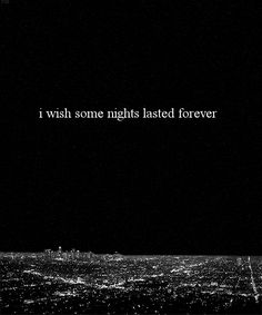 I wish some nights lasted forever. I love this GIF because of the twinkling lights of the city. It seems so much more peaceful when viewed from this perspective, as if there is an entire carpet of a thousand sparkles, glimmering against the jet black night, when in reality, each dot is a human, a life, a story with its own beginning and ending.