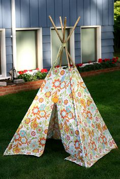 Love this teepee!!! Adorable :)