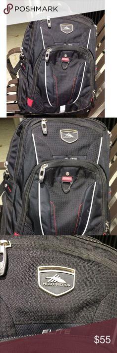 HIGH SIERRA ELITE BACKPACK More like new Nike Bags Backpacks