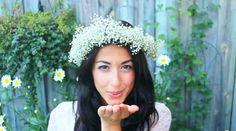 sposa con corona di fiori - Cerca con Google