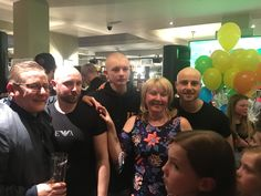 Three bald heads & lots of money raised for a local girl with leukaemia. Thanks to Josh,Louis and Dylan Stone #brave #cancer #community