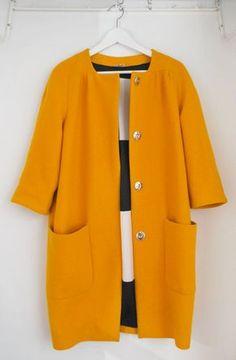 Bubble coat by Yellow Lane ( Burda Pattern w/o the frills)