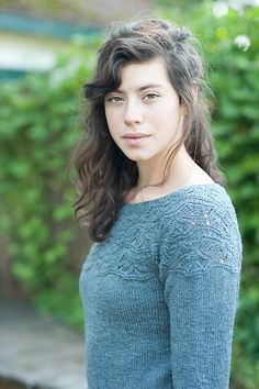 Sibella Pullover by Carrie Bostick Hoge (pattern) - $6. This is SO pretty...I may need to learn how to knit. :P