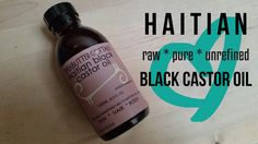 Grown and processed from the castor bean in Haiti, our organic/unrefined Haitian black castor oil (l'huile mascreti/lwil maskreti/l'huile palma christi) is a light emollient applied externally to soot
