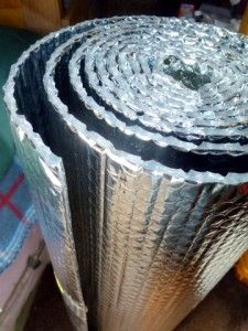 Reflectix-Vert helps keep you cool in the summer and warm in the winter... you would not believe how much this helps.