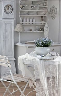 in the Quiet of the sea, shabby chic cottage