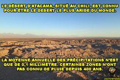 250 fois plus aride que le Sahara ! 😲