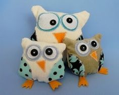 Free pattern: Little owl softie · Sewing | CraftGossip.com