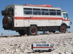 Dragoman truck in Etosha National Park, Namibia - Adventure travel writing by www.blackfrogpublishing.com