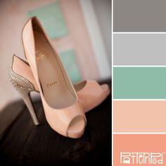 Palette de couleurs - Tons pastels vintage