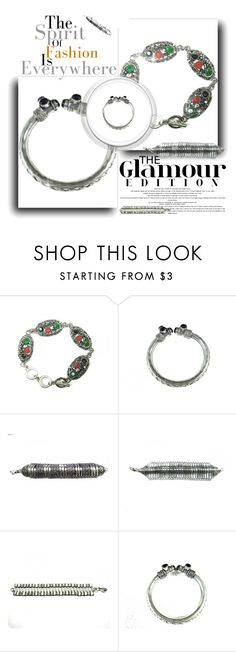 """Fashion Bracelet Bangle Jewelry"" by era-chandok ❤ liked on Polyvore"