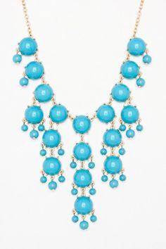 pretty statement necklace