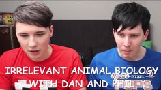 Screenshot of DanAndPhilGAMES Minecraft episode