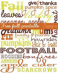 Fall Subway Print