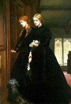 For the Last Time, oil on canvas 1864, by Emily Mary Osborn