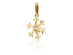 9ct Yellow Snowflake Pendant: http://www.cooksongold.com/Finished-Jewellery/9ct-Yellow-Snowflake-Pendant-Set---With-Cubic-Zirconia-prcode-VPA-2043