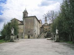 The monastery of Montesenario, built in 1234 near Vaglia, is one of Tuscany's most important sanctuaries.
