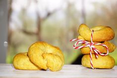 Greek Recipes, Bagel, Bread, Fruit, Cooking, Food, Kitchen, Brot, Essen