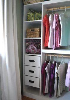Closet Storage System Tutorial