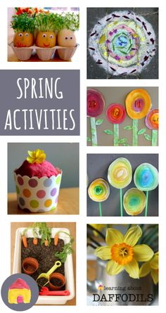 A complete resource of Easter activities for children including Easter crafts, math, literacy, science and Easter egg games