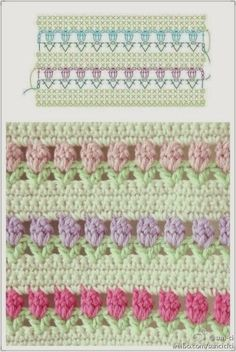 Crochet patterns, crochet stitches and inspiration.