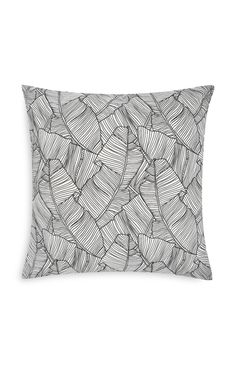 Leaf Print Cushion Uni Room, Dorm Room, Primark Uk, Printed Cushions, First Home, Leaf Prints, Living Room, Bedroom, Yellow