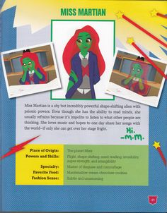 Miss Martian, The Martian, She Song, Other People, Love Her, Family Guy, Songs, Superhero, Reading