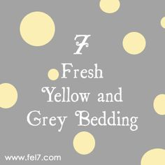 7 Fresh Yellow and Grey Bedding Yellow And Gray Bedding, Grey Bedding, Fresh, Bedroom, Gray Bedding, Bedrooms, Dorm Room, Dorm