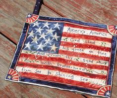 Happy 4th of July! by Laurie Wearp on Etsy featuring my Patriotic Star soap. Happy Owl Treasures