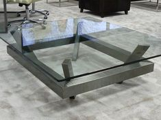 GLASS COFFEE TABLE EIMI BY GONZALO DE SALAS