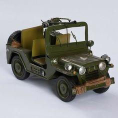 Miniaturas Jeep Militar