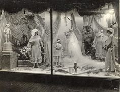 Vintage photo of Daytons Department Store Bridal window display, 1923. Today, Daytons is known as Target.