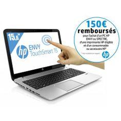 Envy TouchSmart 15-J081SF - Ordinateur Portable Tactile 15,6'' - Intel Core i7-4700MQ (2,4 GHz) - HDD 750 Go - RAM 4 Go - NVIDIA GeForce GT 740M - Windows 8 - Argent : en vente sur RueDuCommerce