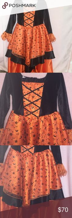 ✨💛Girls Witch costume size 3T💛✨ Girls candy corn witch costume size 3T✨💛✨ Koala Kids Costumes Halloween