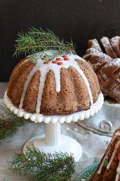 Bakewell Tart, Fruit Bread, Baked Donuts, Little Cakes, Trifle, Coffee Cake, Tiramisu, Deserts, Good Food