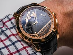 "Ulysse Nardin​ Hourstriker Erotica Jarretiere Watch Hands-On - by Rob Nudds - yes, those figures also ""move"" ...See & read more on aBlogtoWatch.com ""It's not often I struggle to get excited about watches; it's rarer still I find it this easy! In all seriousness, the Ulysse Nardin Hourstriker Erotica Jarretiere watch is not the kind of watch I would normally go in for. I've nothing against erotic watches in theory, but historical examples have always been a bit too flamboyant and crude..."""
