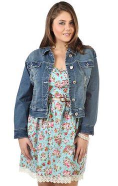 short jean jacket plus size - Jean Yu Beauty