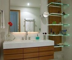 Washroom, Bathroom Cabinets, Bathroom Medicine Cabinet, False Ceiling Design, Bathroom Layout, Bathroom Designs, Double Vanity, Decoration, Basin