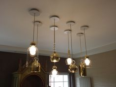 Private house in Grand Duchy of Luxembourg. Pendant lamps MEMORIA by Evi Style, design Dima Loginoff.