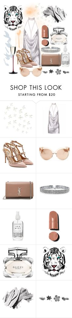 """There he go"" by keepcalmandlovelife ❤ liked on Polyvore featuring Umbra, Valentino, Linda Farrow, Yves Saint Laurent, Bling Jewelry, Herbivore, Gucci, Bobbi Brown Cosmetics and Riedel"