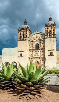 Iglesia de Santo Domingo de Guzmán en Oaxaca, México
