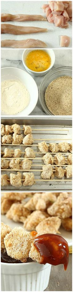 Popcorn Chicken Pops