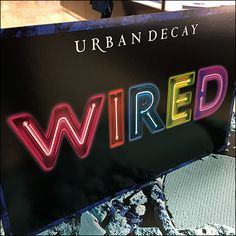 This Sephora Urban Decay Billboard Island Display projects the Wired name into the distance for long-range customer outreach. Retail Fixtures, Store Fixtures, Cosmetic Display, Lipstick Holder, Billboard, Clear Acrylic, Urban Decay, Close Up, Sephora