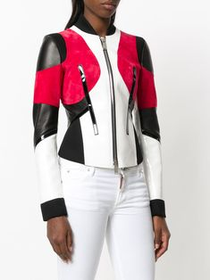 Tailor your look to perfection with the women's fitted jackets edit at Farfetch. Find women's designer tailored jackets from top names now. Hot Outfits, Fashion Outfits, Womens Fashion, Moto Jacket, Leather Jacket, Tailored Jacket, Winter Jackets Women, Fashion Branding, Work Attire