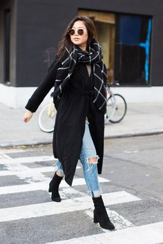 The best winter and fall street style we found on the streets of new york