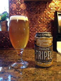 Tribute Tripel by Neshaminy Creek Brewing Company; Croydon, PA.