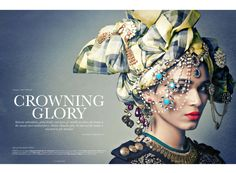 Tarun Khiwal Photography | E_DITORIAL / ELLE / CROWNING GLORY