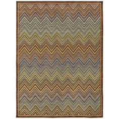 Chevron Rug from Shaw Rugs