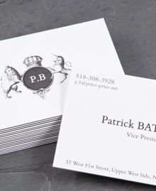 Love These Patrick Bateman Inspired Business Cards American Psycho Card Design