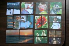 make your own magic folding photo cube